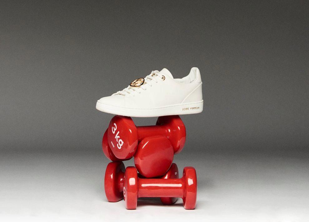 Zapatilla deportiva de Louis Vuitton.