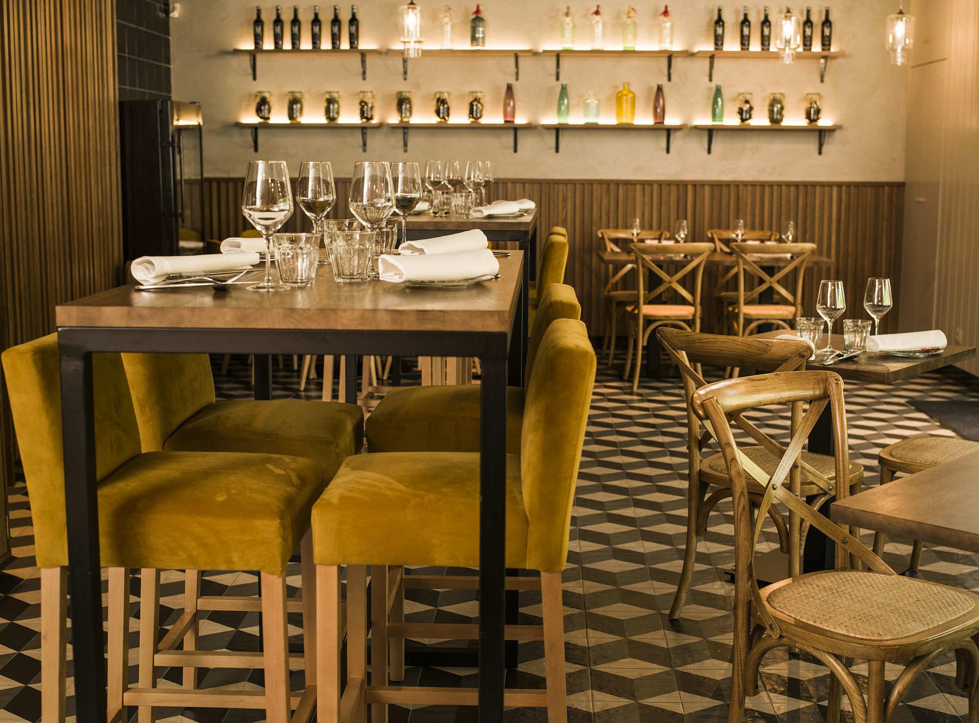 Restaurante Latasia, en Madrid