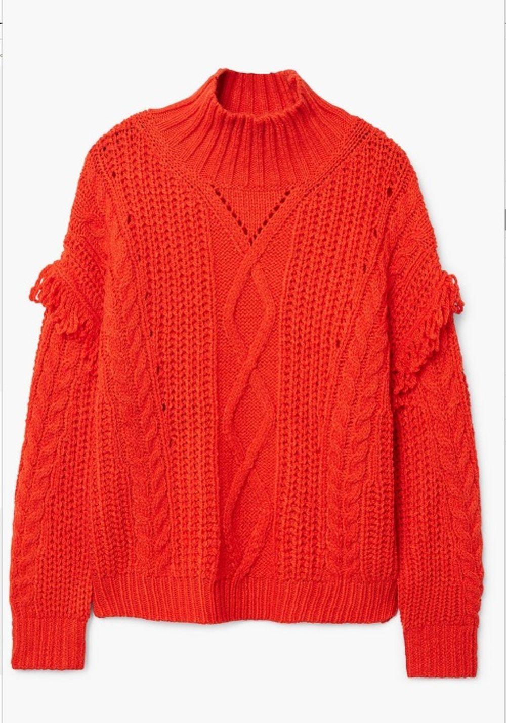 Jersey cuello alto de Mango (29,99 euros)