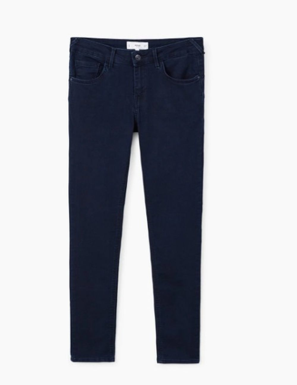 Pantalón pitillo azul oscuro de Mango (25,99 euros)