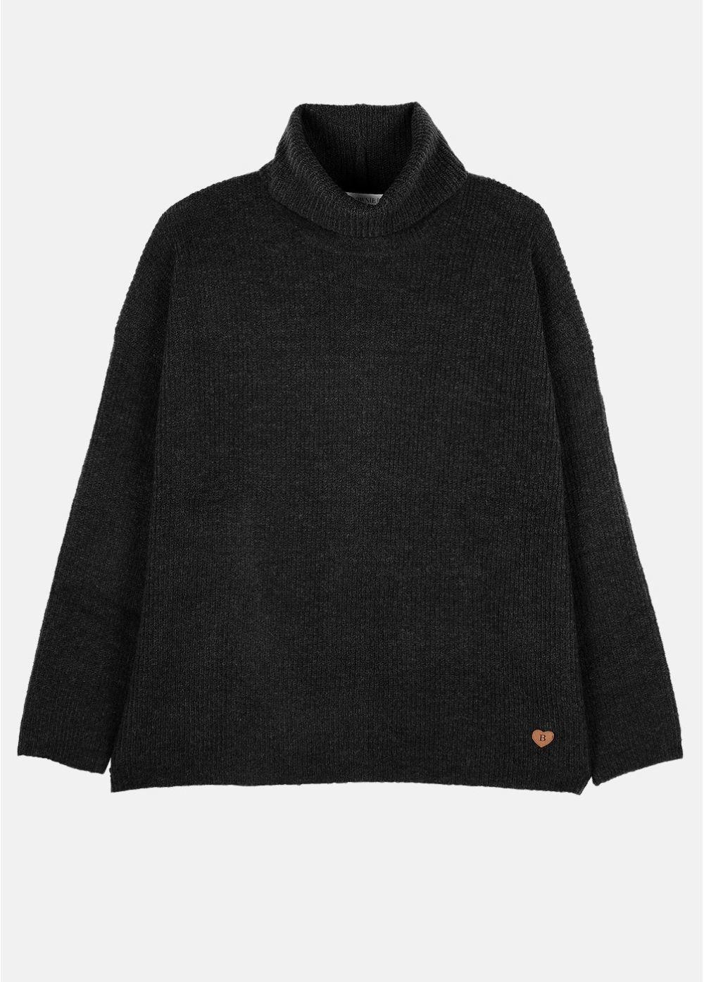 Jersey negro de cuello alto de Brownie (59 euros)
