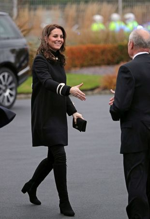 Kate Middleton en Birmingham.