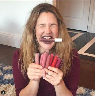Estos son solo algunos de los tonos de labiales que la actriz tiene en...