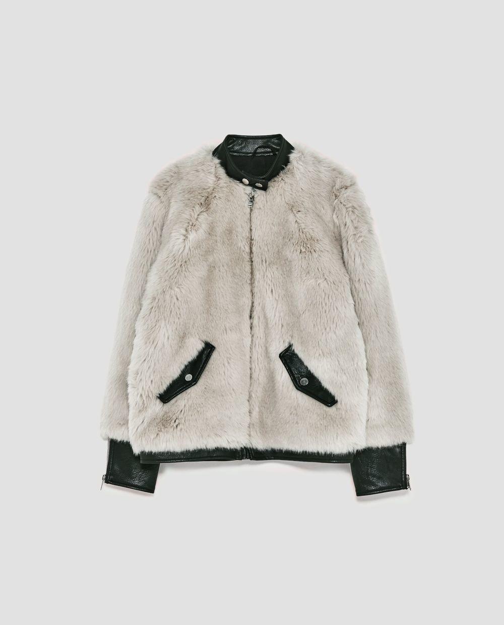 Bomber de Zara (79,95 euros)
