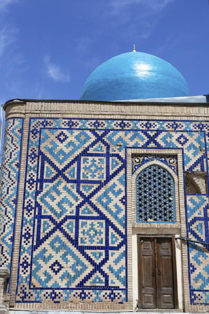 Mezquita Bibi Khanum  en Samarcanda.
