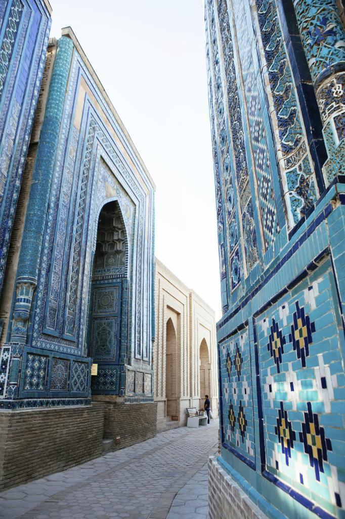 Edificios en la Necrópolis de Sazi Zinda