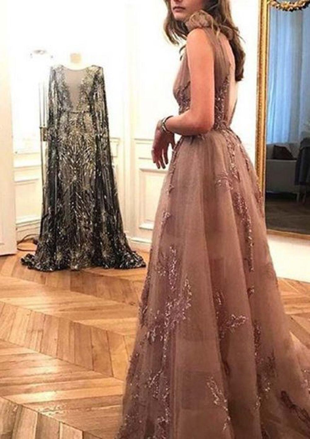 El impresionante vestido Zuhair Murad de Amina Martínez de Irujo.