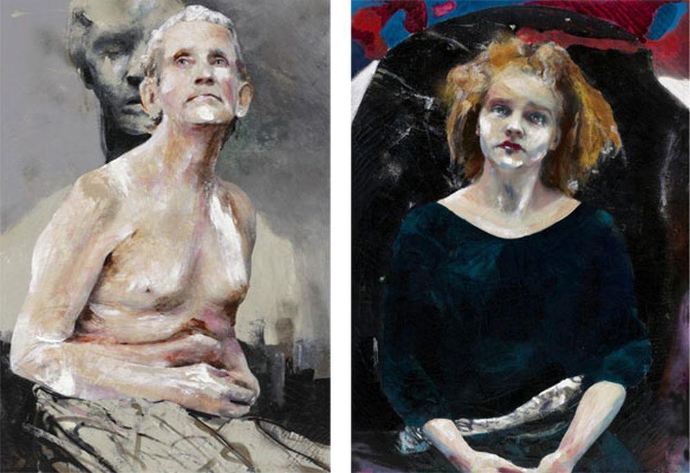 """""""Gerónimo y Mary"""", de Lita Cabellut."""