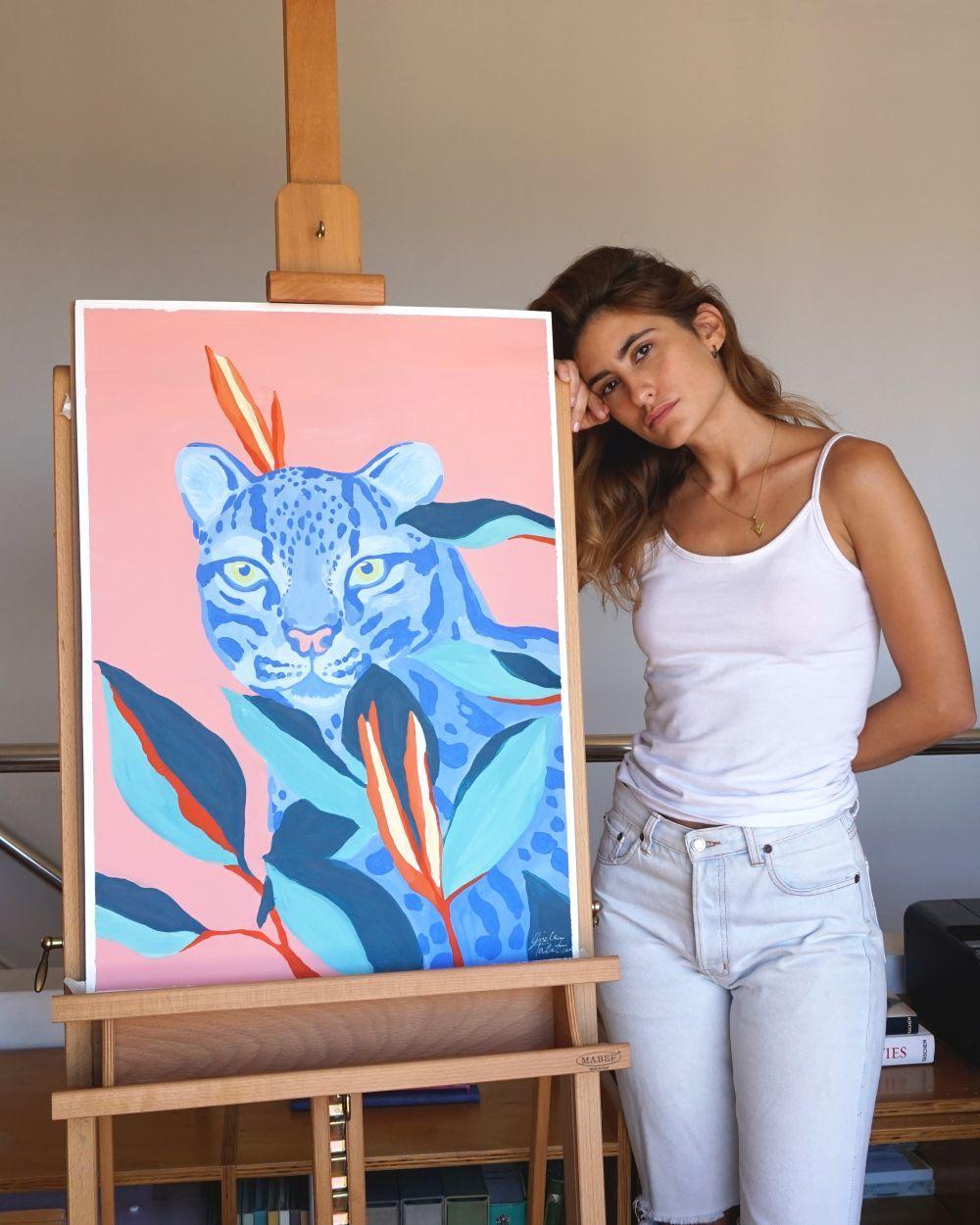 La ilustradora valenciana Gisela Talita.