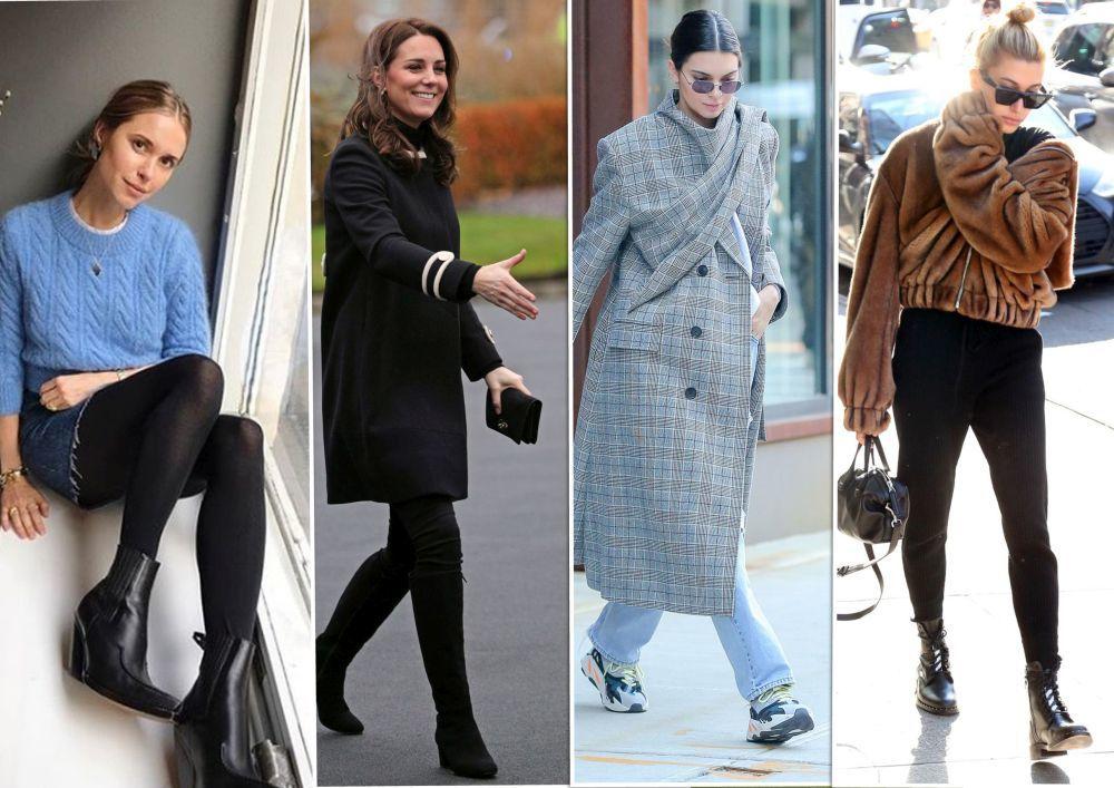 Pernille, Kate Middleton, Kendall Jenner y Hailey Baldwin.