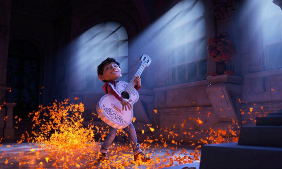 Un fotograma de la película Coco