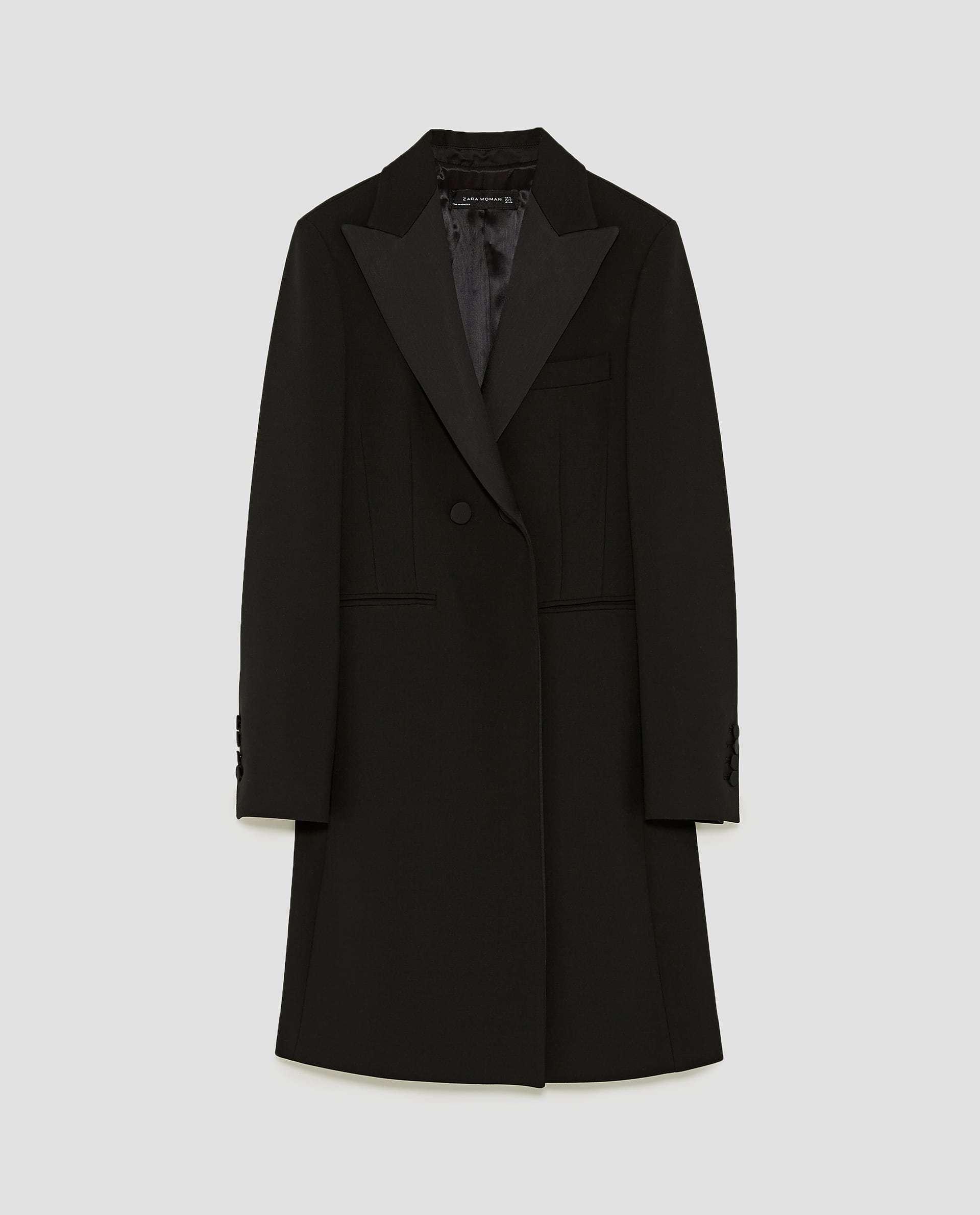 Levita con solapas de Zara (79,95 euros)