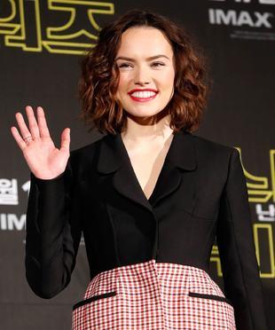 Daisy Ridley es el vivo ejemplo de lo bien que sienta el (wavy) bob...