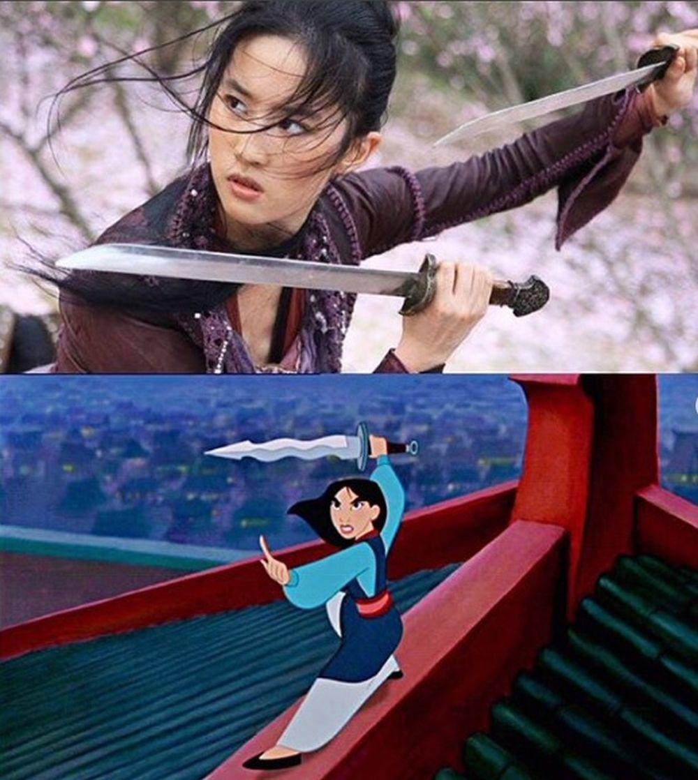 La actriz china Liu Yifei será Mulán en la nueva película de...