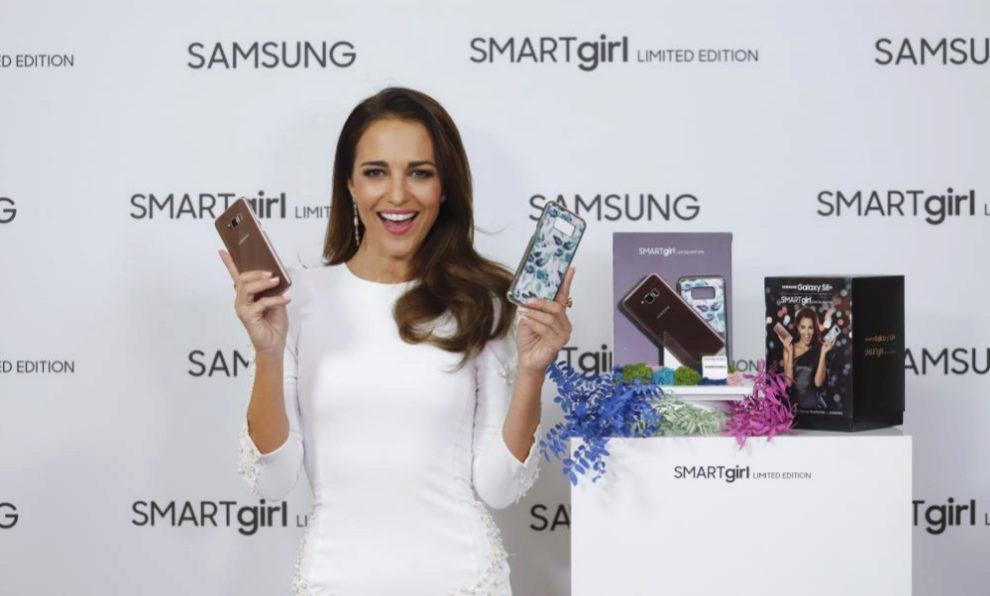 Paula Echevarría en la presentación de Samsung en Madrid.