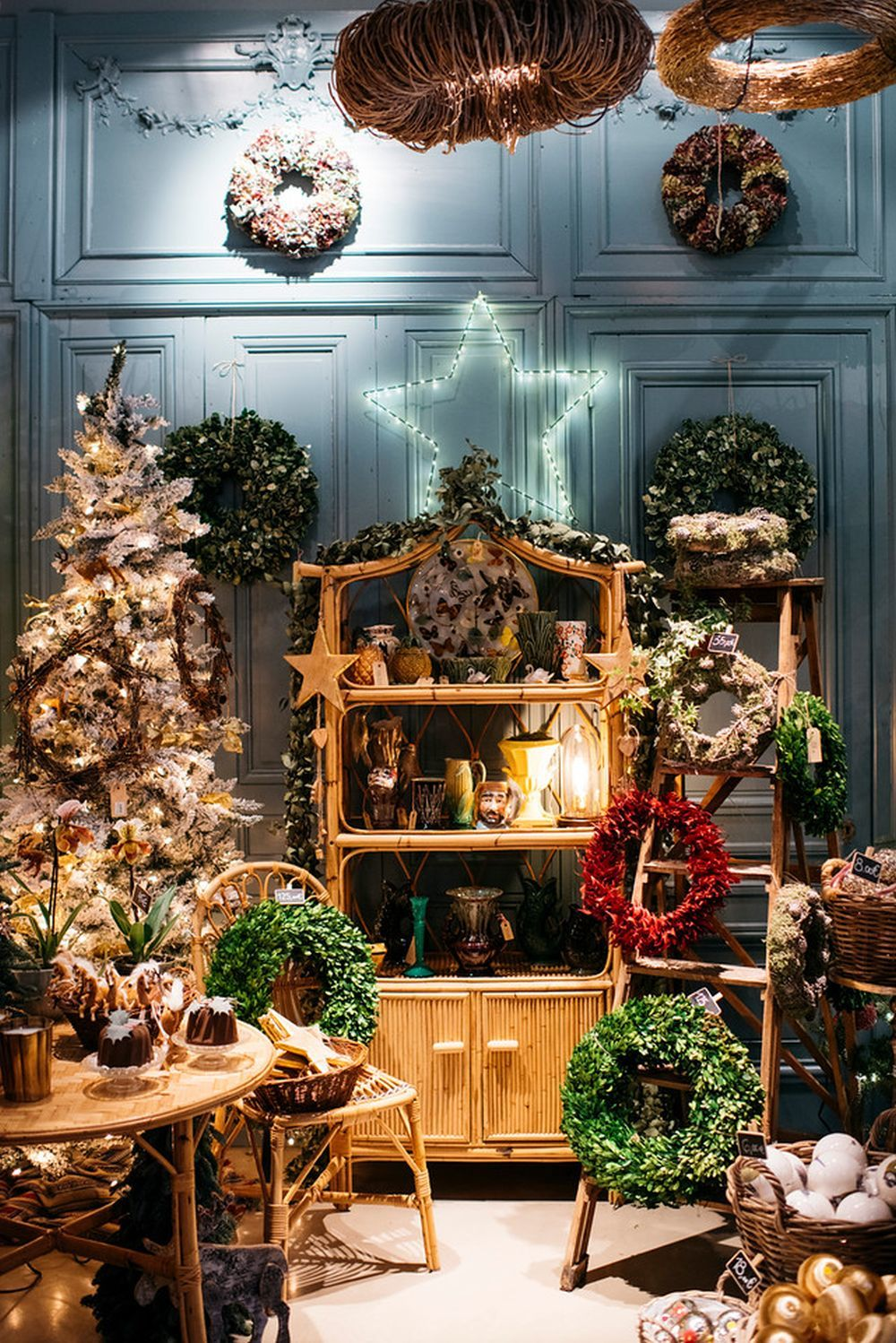Decoración navideña de Sally Hambleton XMAS Shop