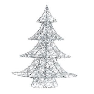 Árbol luminoso de metal de 64 cm, de Maison du Monde (44,99 euros)
