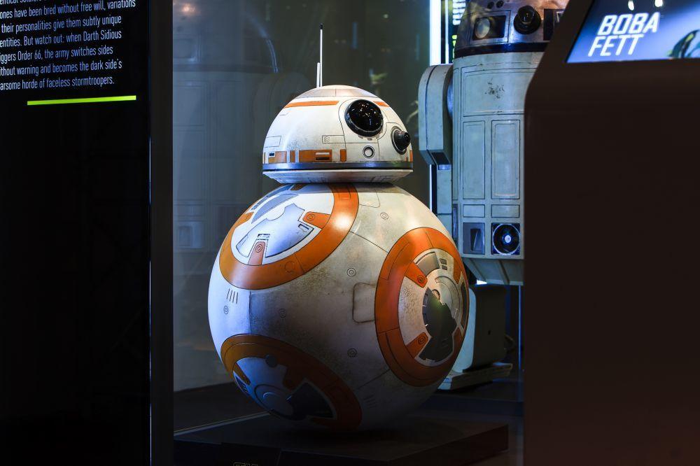 Exposición Star Wars.