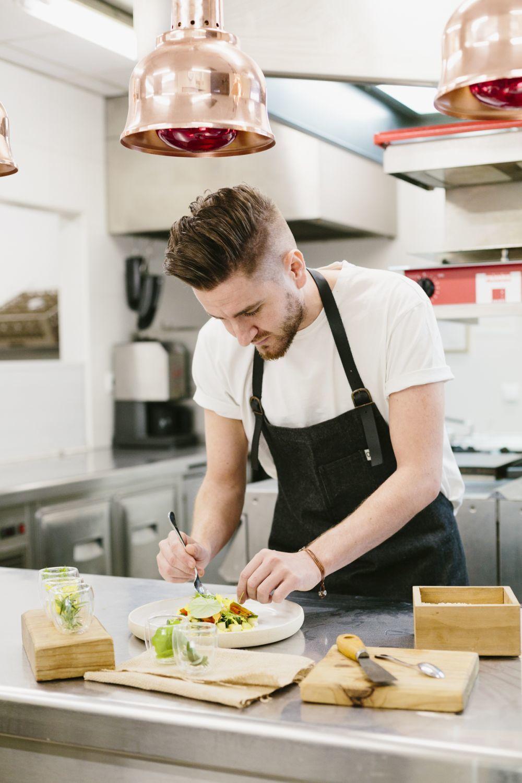 Leandro Gil, chef del restaurante Alma, de Pamplona.