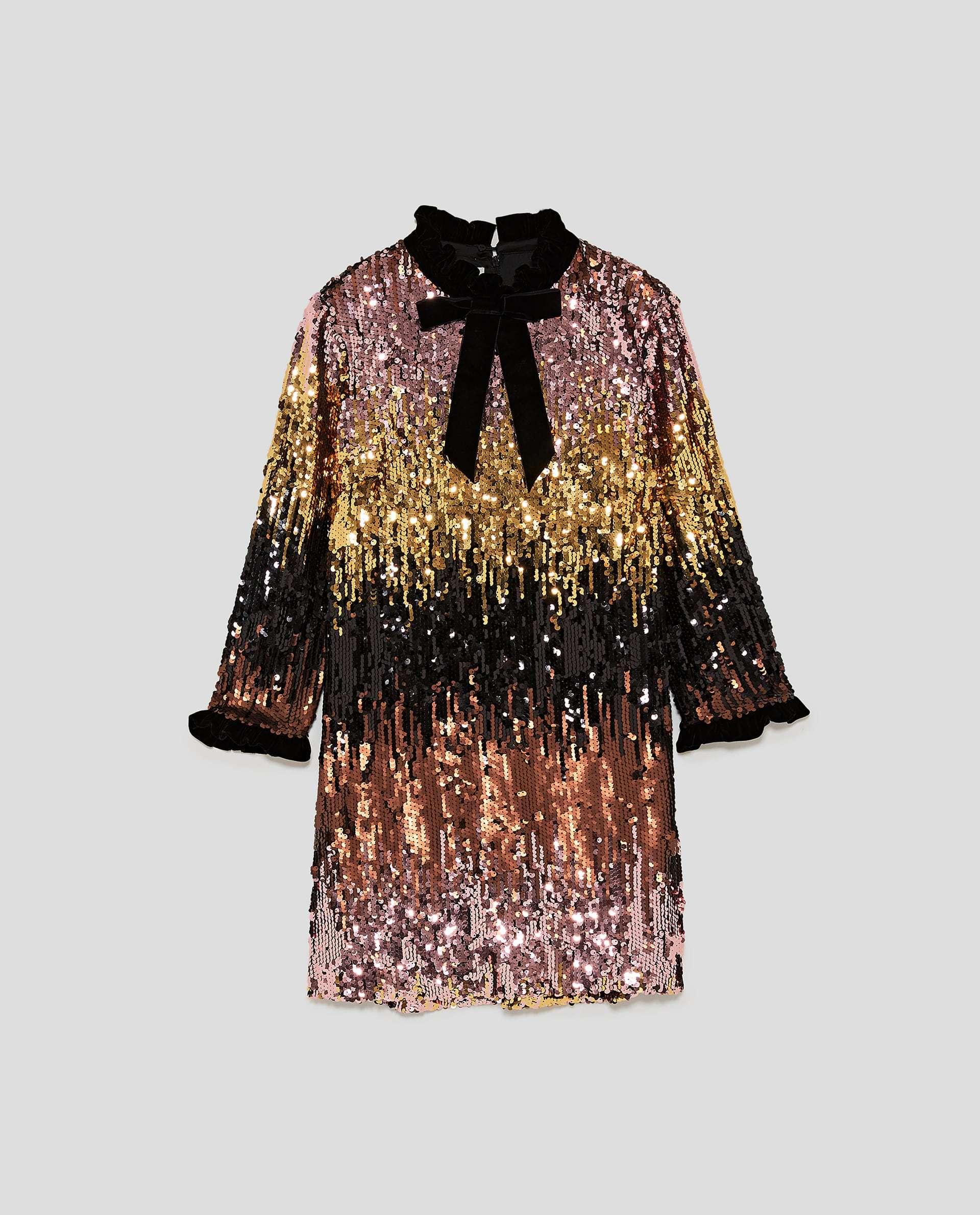 Vestido de Zara (79,95 euros).