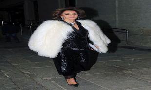 Naty Abascal de Zara para la presentación de la obra 'La...
