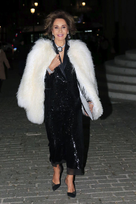 Naty Abascal con un look de Zara.