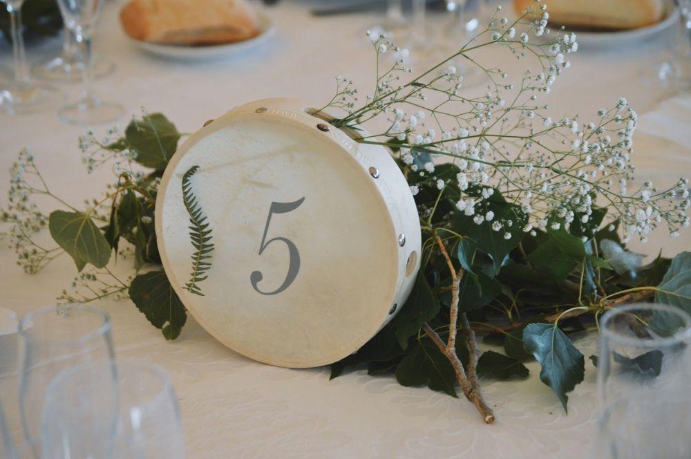 De toda la organización y decoración de la boda se encargaron los...