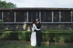 Blanca y Miguel se casaron en una boda de aire campestre, llena de...