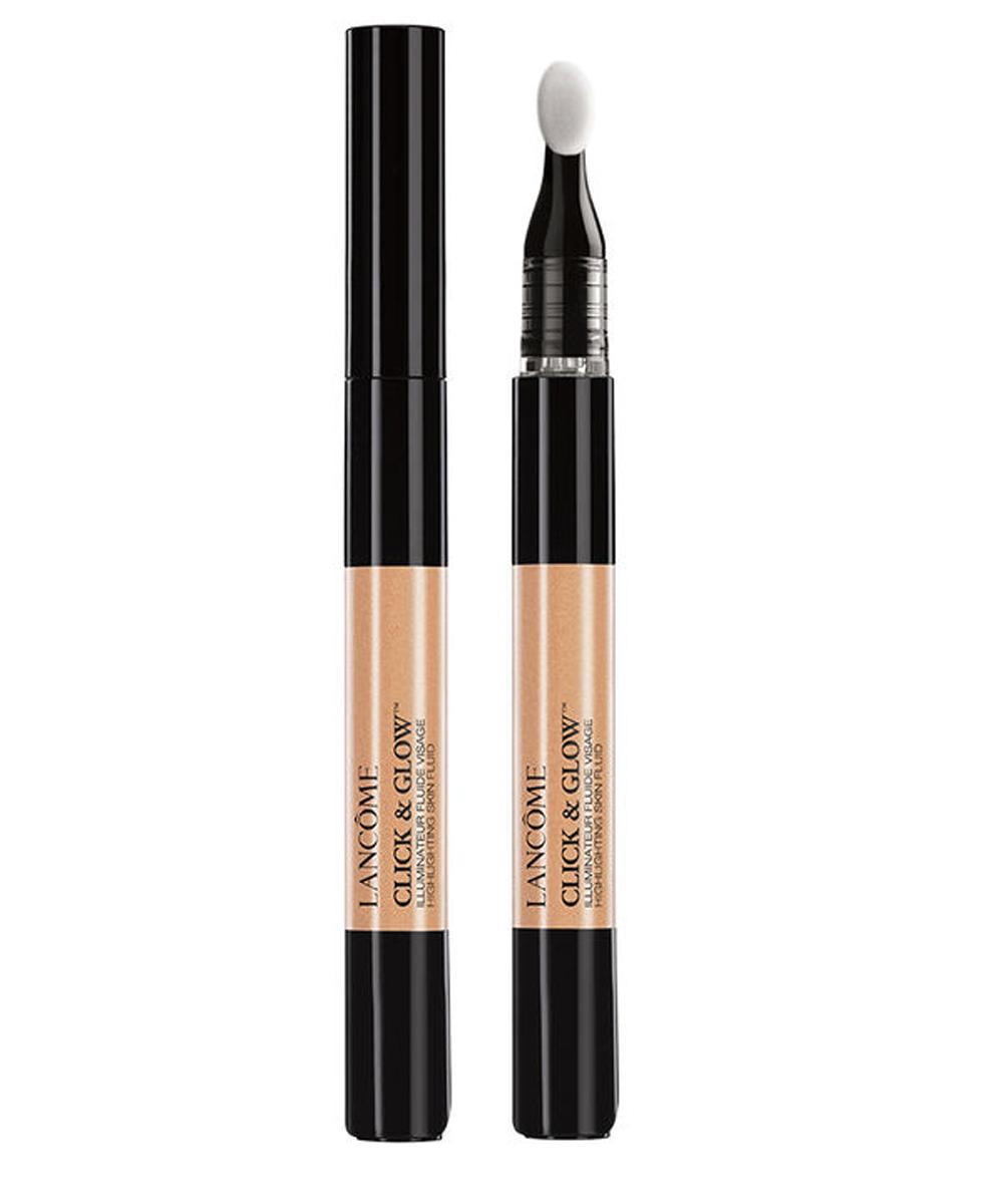 Click & Glow Highlighting Skin Fluid, de Lancôme (23 euros), un...