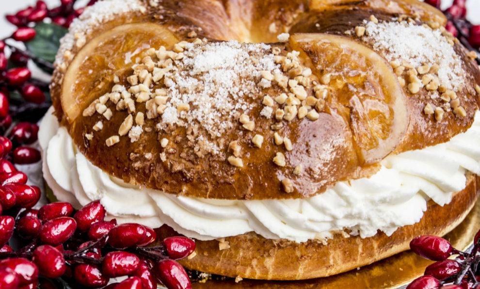 Roscón de la pastelería Panod