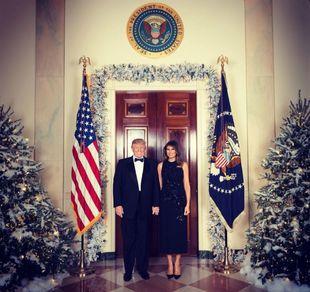Foto oficial publicada en el Twitter de Melania Trump (@FLOTUS)