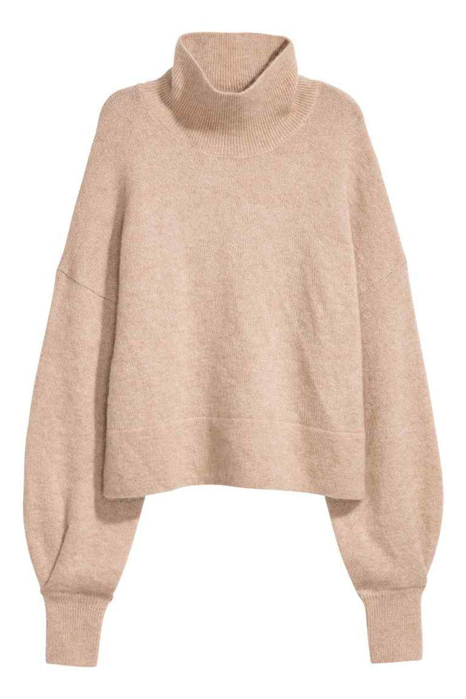 Jersey de cuello alto de H&M (49,99 euros)