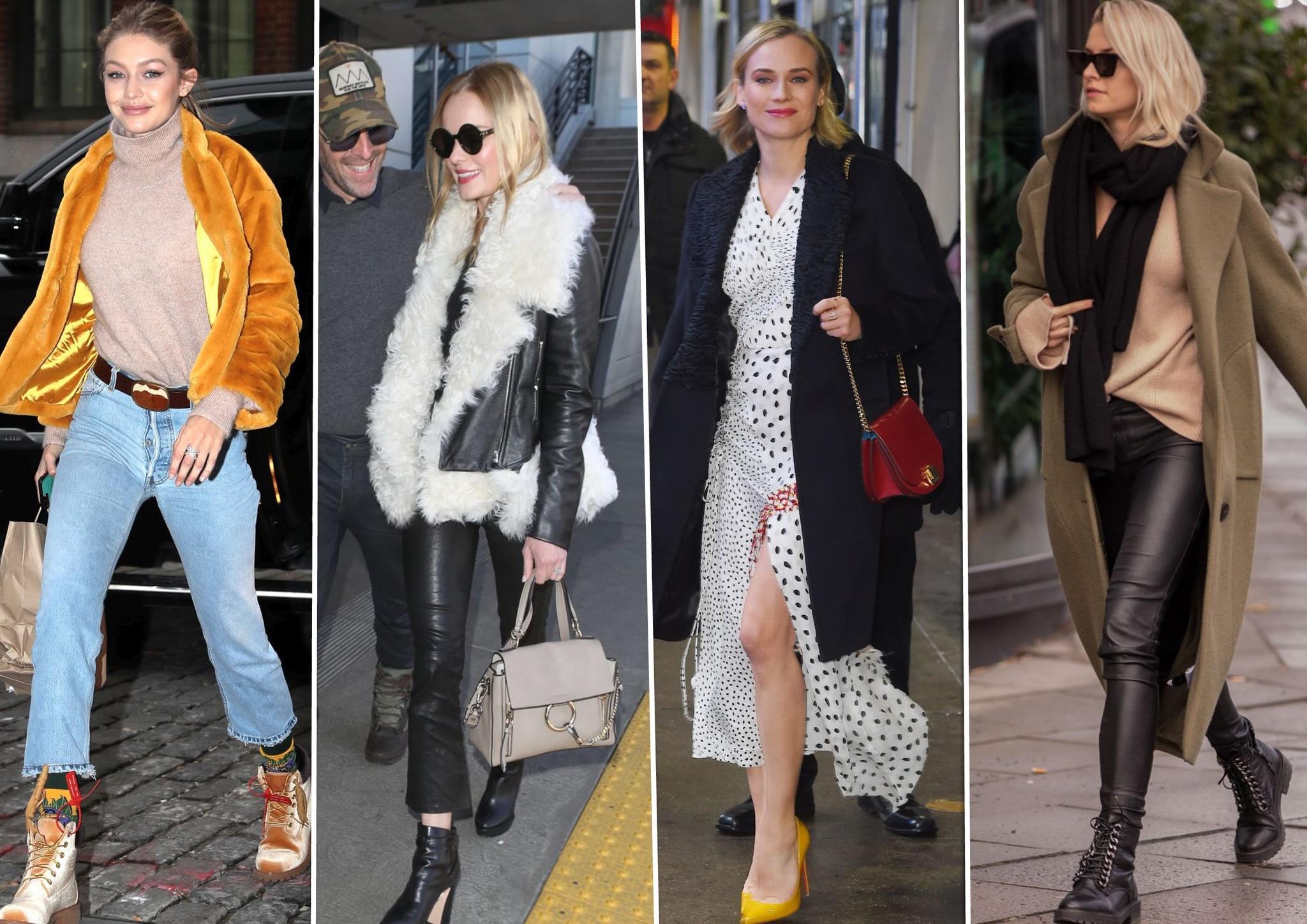 Gigi Hadid, Kate Bosworth, Diane Kruger y Lena Gercke, los looks de la...
