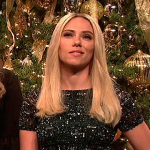 Scarlett Johansson parodia a Ivanka Trump en The Saturday Night Show