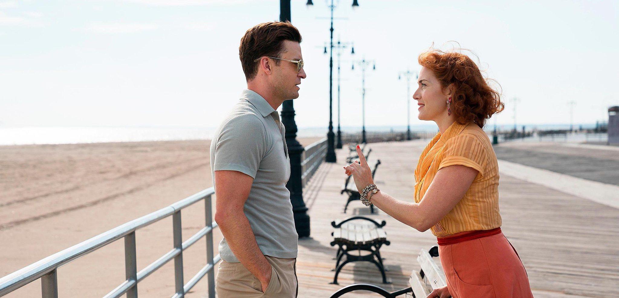 Justin Timberlake y Kate Winslet protagonizan Wonder Wheel.
