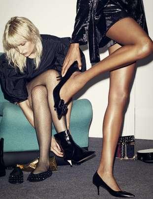 Que el frío no te impida lucir piernas en la noche más importante...