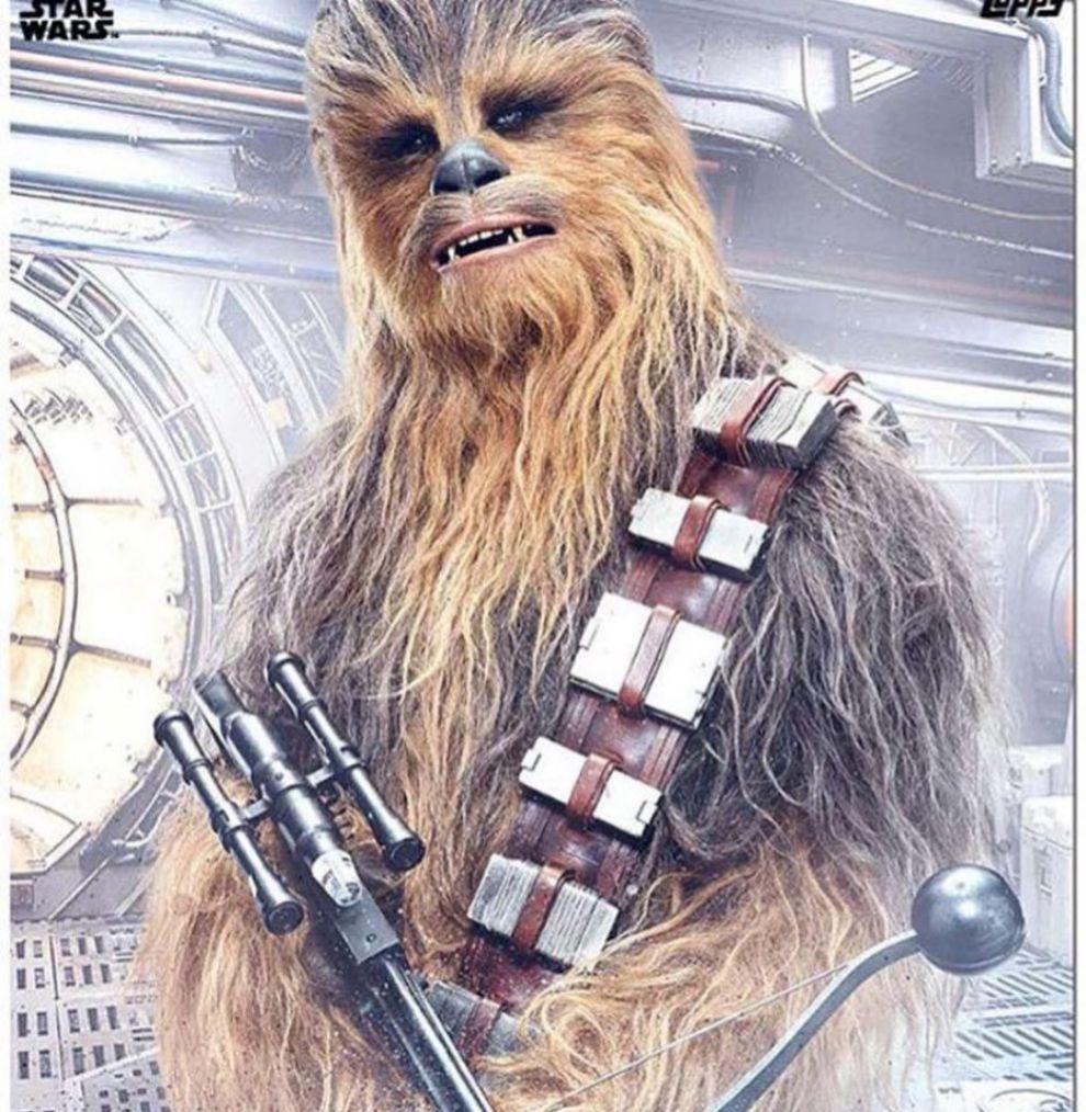 Joonas Suotamo, el (atractivo) actor que encarna a Chewbacca