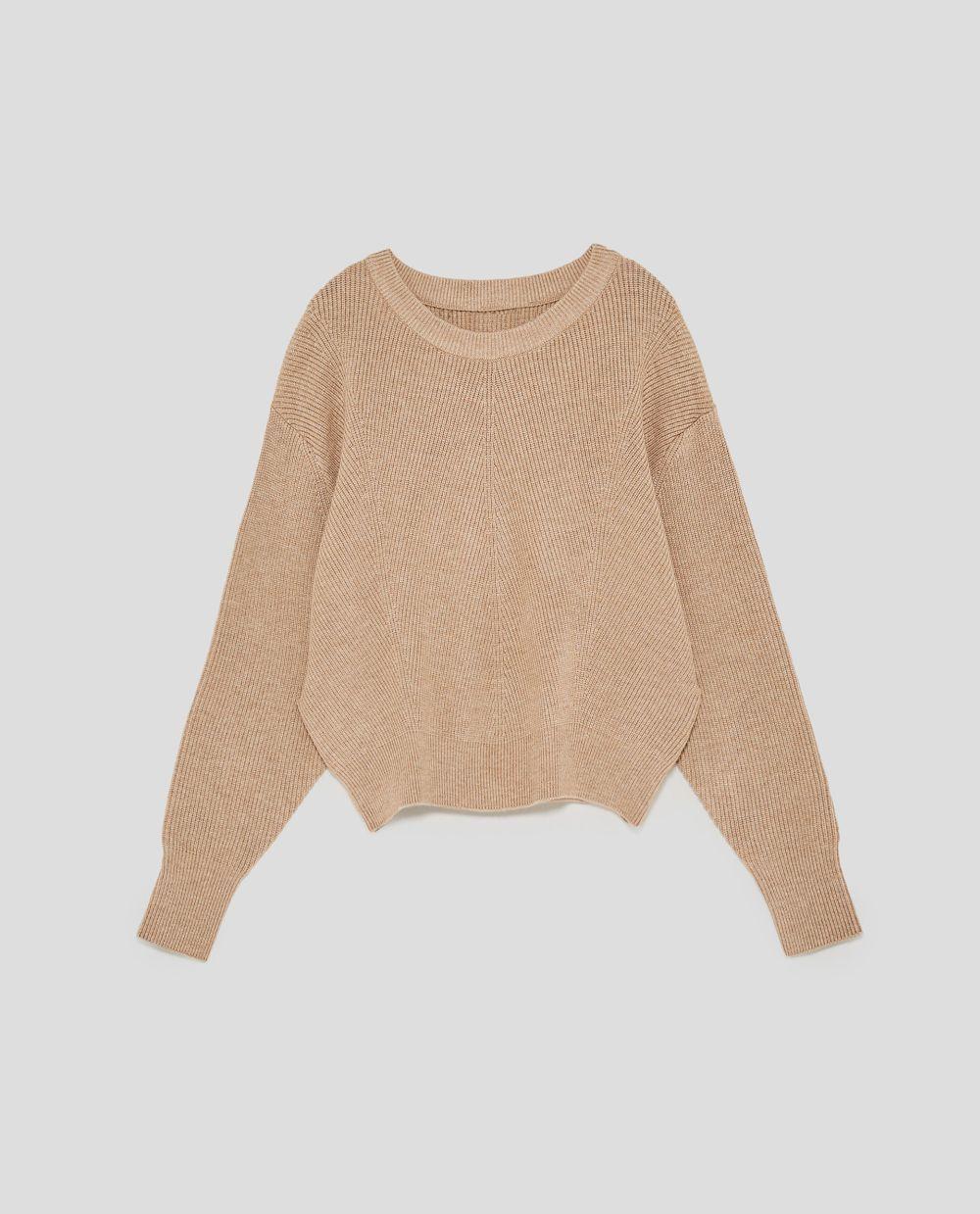 Jersey de punto de Zara (25,95 euros)