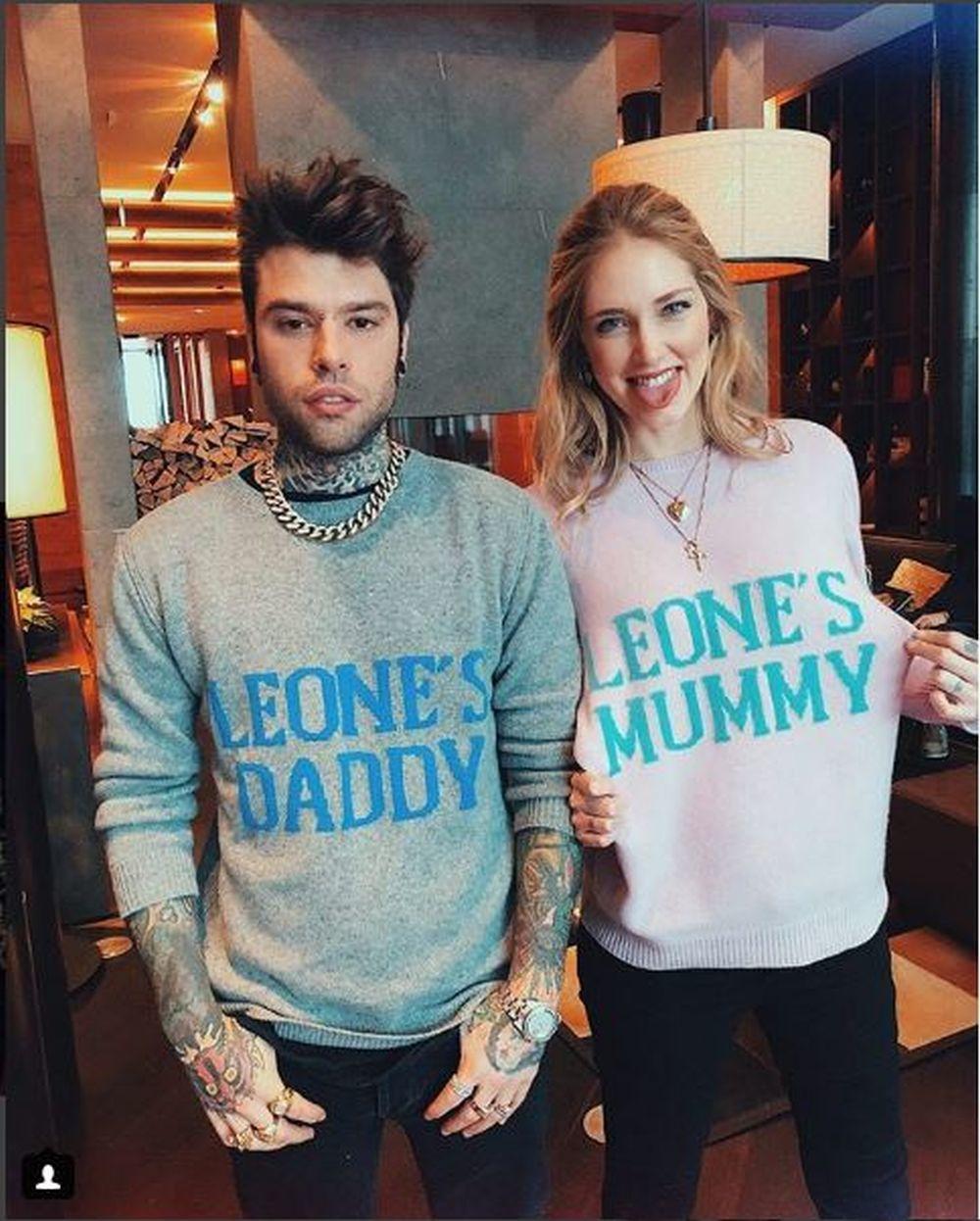 El jersey que se volverá viral de Chiara Ferragni y Fedez