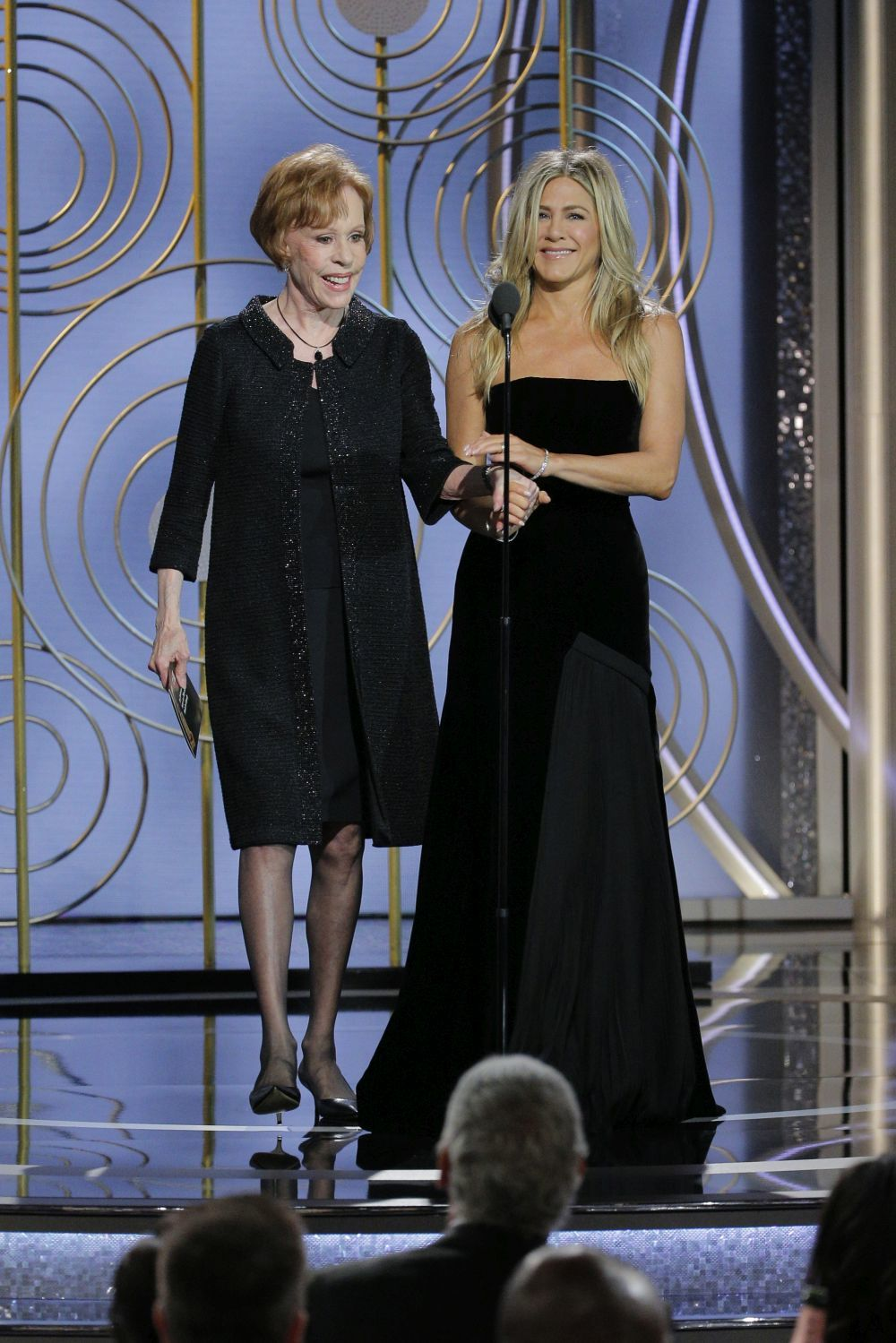 Jennifer Aniston y Carol Burnett