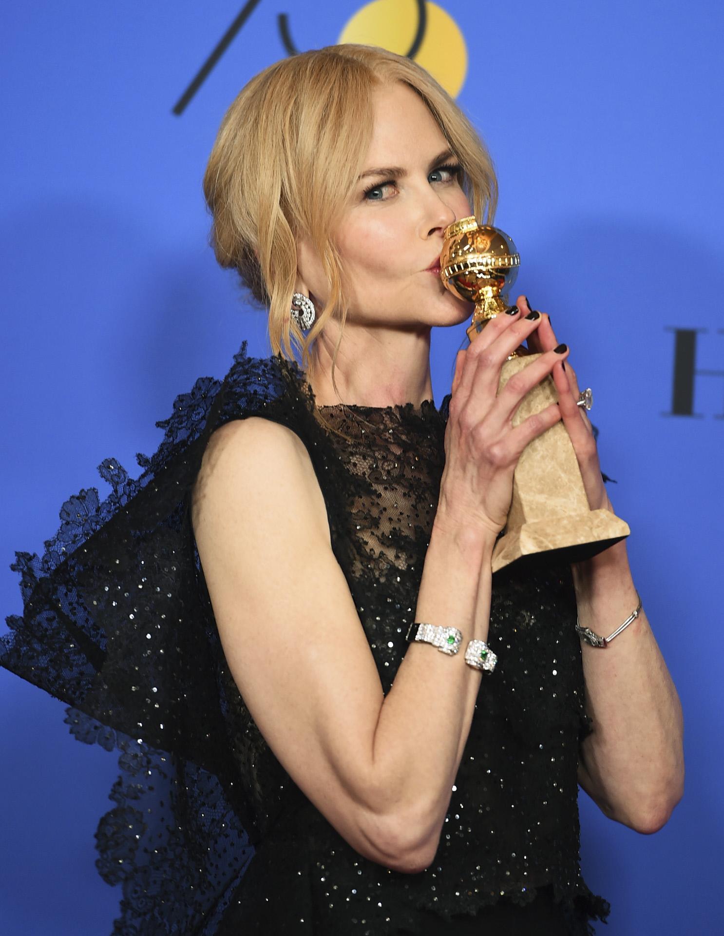 Repasa los ganadores de los Globos de Oro 2018