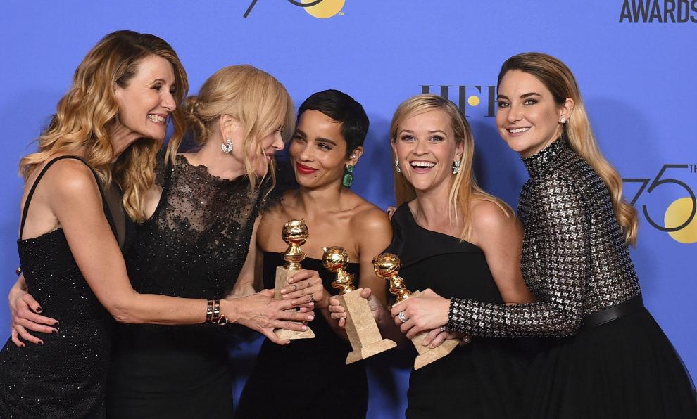 Laura Dern, Nicole Kidman, Zoë Kravitz, Reese Witherspoon y Shailene...
