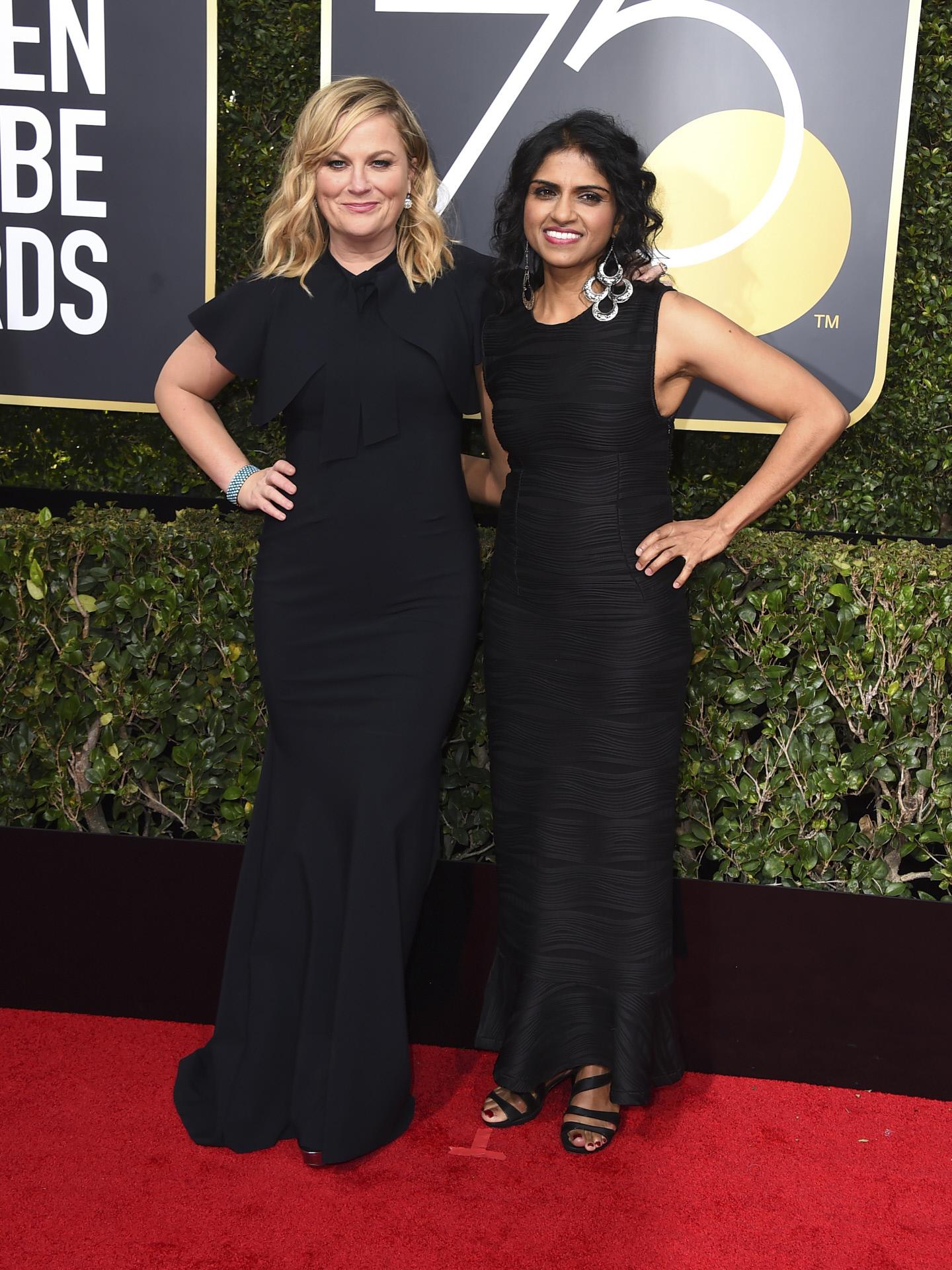 Amy Poehler y Saru Jayaraman