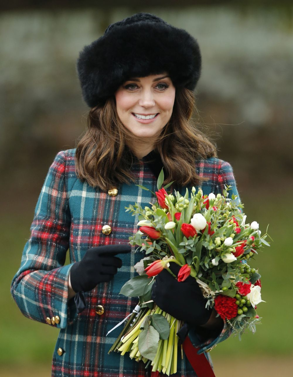 Kate Middleton en Norfolk.