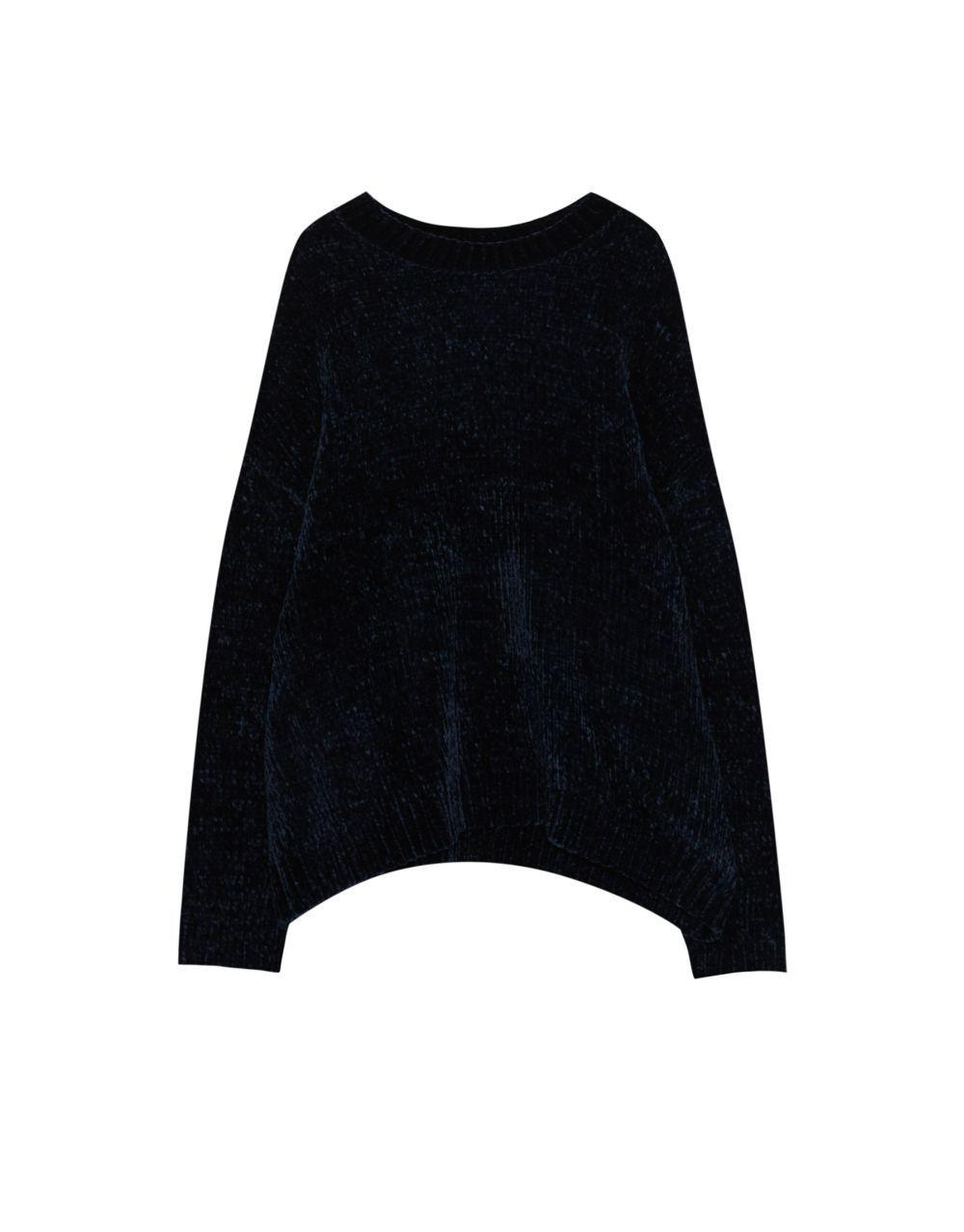 Jersey chenilla de Pull&Bear (19,99 euros)