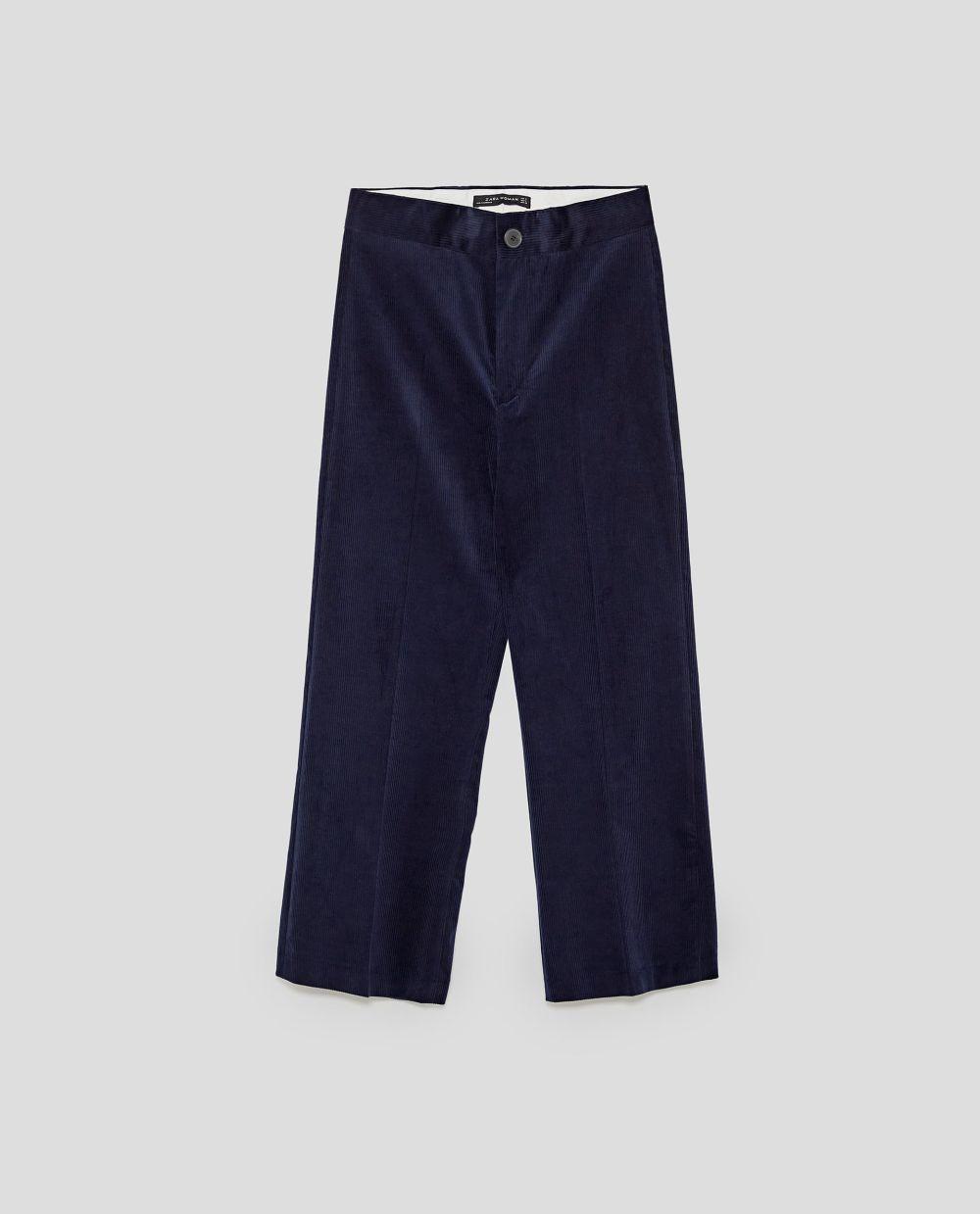 Culotte pana de Zara (19,99 euros)
