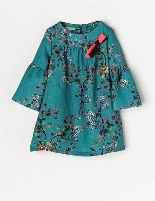 El vestido de Nanos que lució la Princesa Leonor.