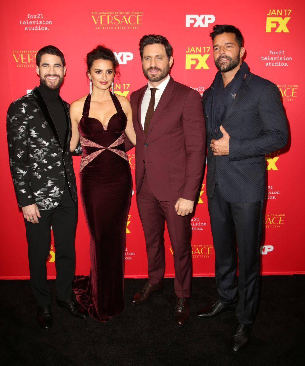 "Los actores protagonistas de ""The Assassination of Gianni Versace:..."