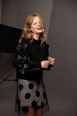 La campaña RE:CYCLE.está protagonizada por la modelo belga Hanne...