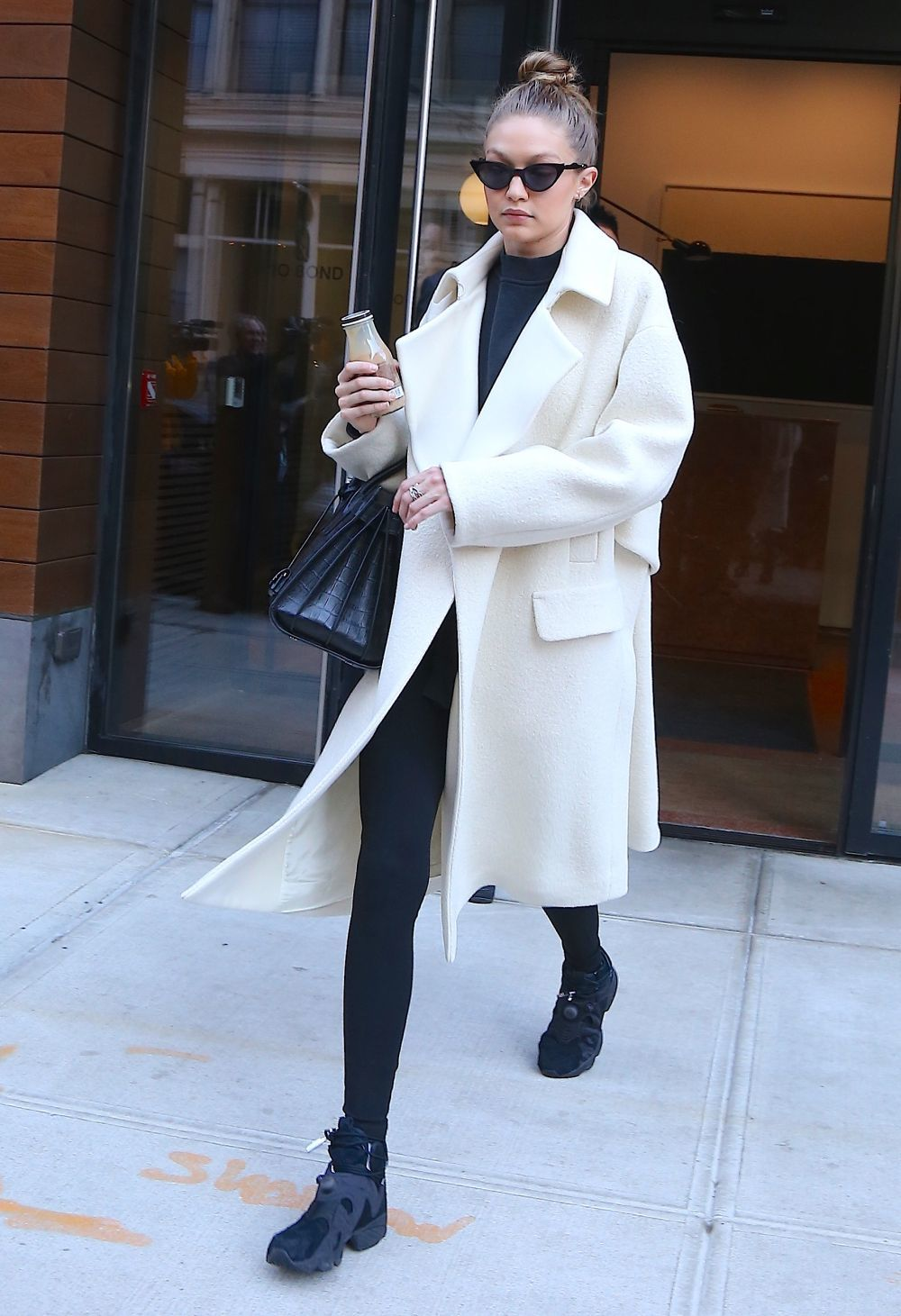 Gigi Hadid con un look casual